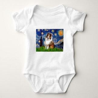 Shetland Sheepdog 4 - Starry natt Tee Shirts