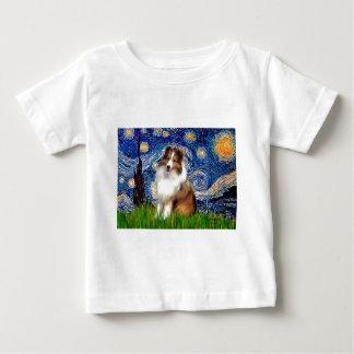 Shetland Sheepdog 4 - Starry natt Tröjor