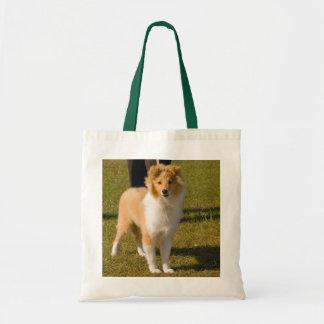 Shetland Sheepdog - den Sheltie valptotot hänger l Tygkasse