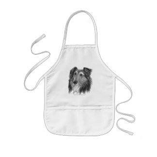 Shetland Sheepdog (Sheltie) Barnförkläde