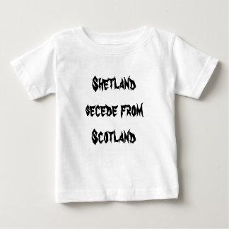 Shetland utträder ur från Skottland T-shirt