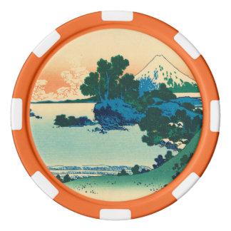 Shichiri strand i det Sagami landskapet Poker Marker
