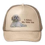 Shih Tzu älskar jag hatten Kepsar