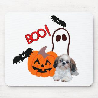 Shih Tzu Halloween Mousepad Musmatta