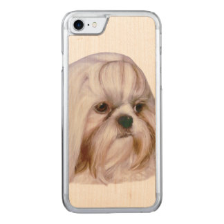 Shih Tzu hund Carved iPhone 7 Skal