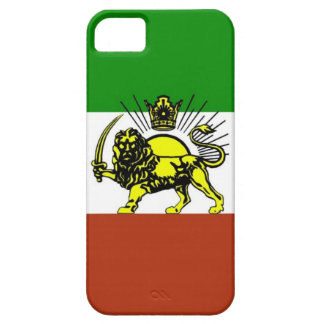 Shiro Khorshid - Iran flagga iPhone 5 Case-Mate Skydd