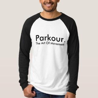 Shirt. för Parkour anpassadelag T Shirts