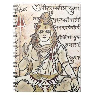 Shiva sitta anteckningsbok