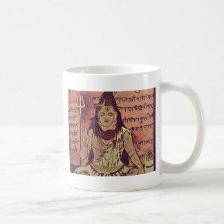 Shiva sittamörk kaffemugg