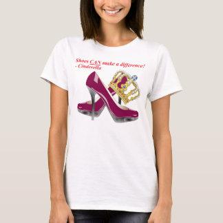 Shoes KAN göra en skillnad! - Cinderella Tee Shirt
