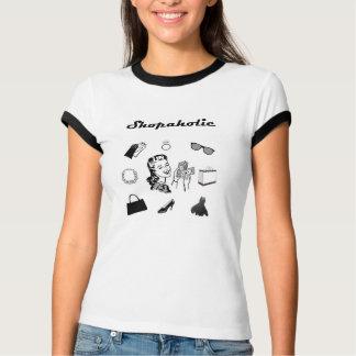 Shopaholic Retro T-tröja Tee