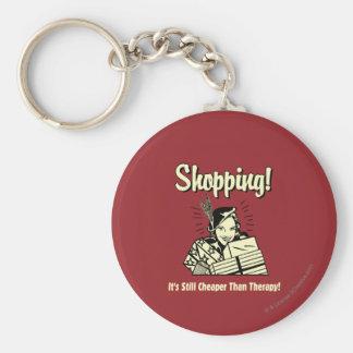 Shoppa: Mer billig än terapi Rund Nyckelring