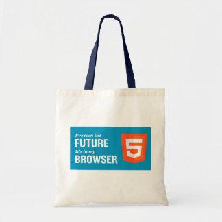 Shopping bag HTML5 Budget Tygkasse