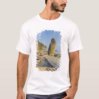 Shoreline och Seastacks, Rubystrand, OS Tee Shirt