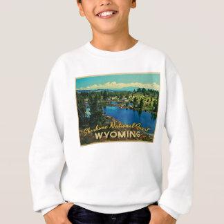 Shoshonenationalskog Wyoming Tee