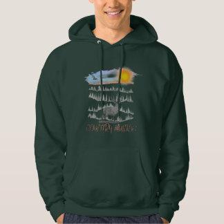 Showen älskar du utgiftertid i det underbart sweatshirt med luva