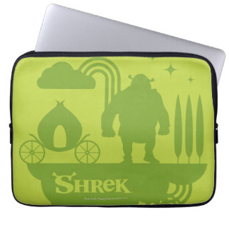 Shrek sagaSilhouette Laptop Sleeve