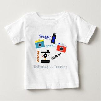 Shutterbug i utbildning t-shirts