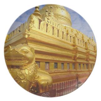 Shwezigon Pagoda i Bagan, Bagan (paganen), Tallrik