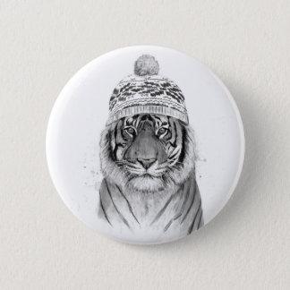 Siberian tiger standard knapp rund 5.7 cm