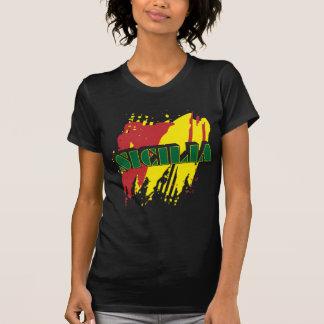Sicilia bokstäver t shirts