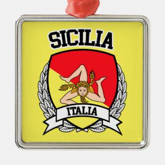 Sicilia Julgransprydnad Metall