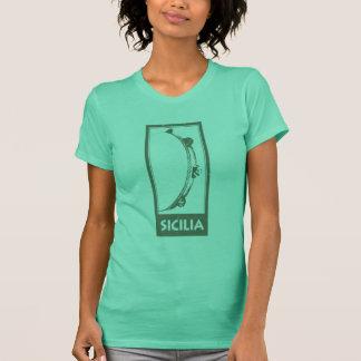 Sicilia Tamburello Tshirts