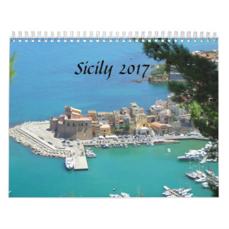 Sicily 2017 kalender