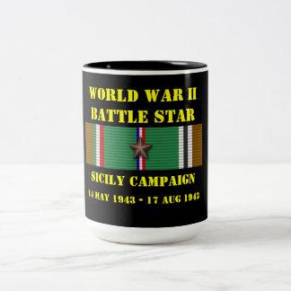 Sicily kampanj Två-Tonad mugg