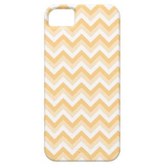 Sicksack i varm solbränna, beige och white. iPhone 5 Case-Mate fodral