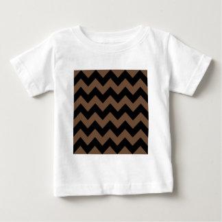 Sicksack jag - Svart och kaffe T Shirts