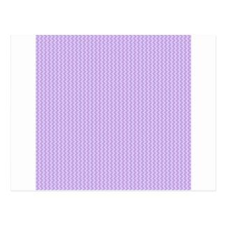 Sicksack - wisteria- och bleklavendel vykort