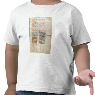 Sida fo för kalender fol.112 för Ms Latin 7272 T Shirts