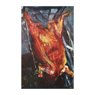 Sidan av nötkött, 1925 canvastryck