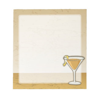 Sidecarcoctail Anteckningsblock