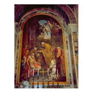 Sidoaltare i Sts Peter Basilica Vykort