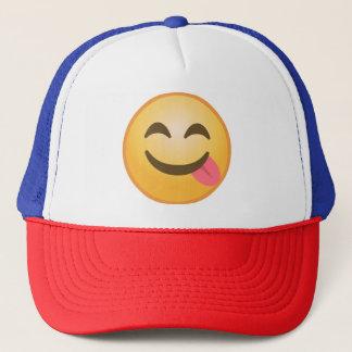 Sidotunga Emoji Truckerkeps