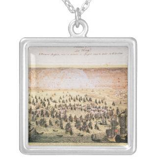 Siege av Mahon, 20th maj 1756 Silverpläterat Halsband