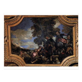 Siege av Scutari av Paolo Veronese Vykort