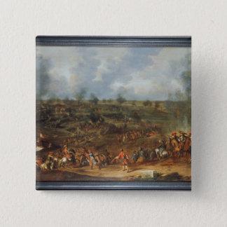 Siegen av Namur, 1692, 18th århundrade Standard Kanpp Fyrkantig 5.1 Cm