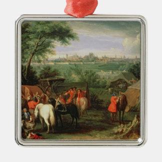 Siegen av Tournai av Louis XIV Julgransprydnad Metall