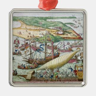 Siegen av Tunis eller La Goulette av Charles V Julgransprydnad Metall