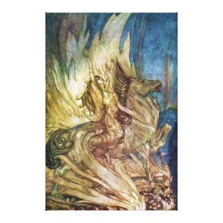 Siegfried & skymningen av gudarna vid en Rackham Canvastryck