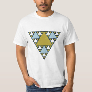 Sierpinski trianglar tröjor
