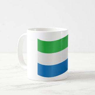 Sierra Leone flagga Kaffemugg