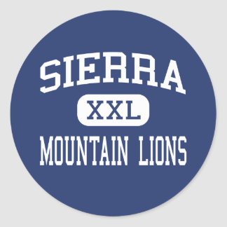 Sierra - pumor - kick - Glendora Runt Klistermärke