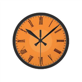 Siffer- anpassaderomare rund klocka