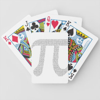 Siffror av Pi Spelkort