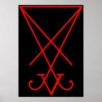 Sigil av Lucifer Poster