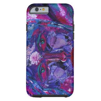Sikt - violett inre vision för magenta & tough iPhone 6 fodral